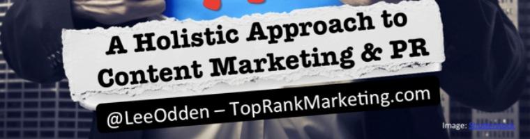 Welcome back TopRank Online Marketing!