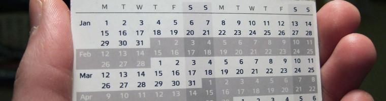 2015 Announcements & Important Dates