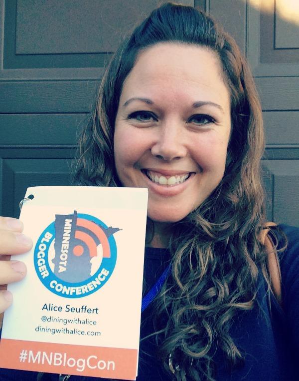 Alice Seuffert Minnesota Blogger Conference