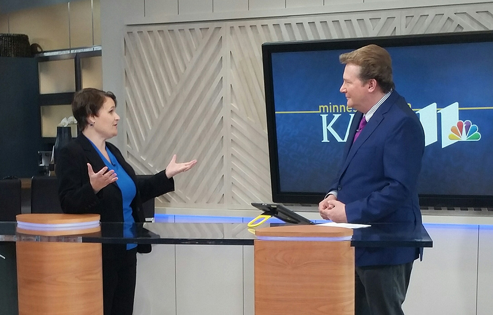 Jennifer Kane on KARE11: How to be a Fierce and Fearless Blogger